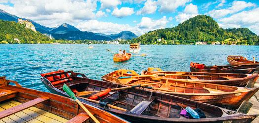 Hotelsko jezero Bled