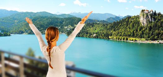 Novoletni paket na Blejskem jezeru Hotel Rikli Balance (nekdanji Hotel Golf) -. Sup